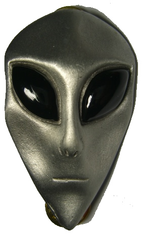 alien head black eyed