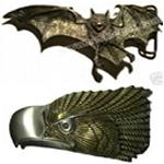 Birds / Eagles / Bat Belt Buckles