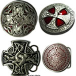 Celtic / Aztec / Runic Belt Buckles