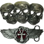 Punk / Gothic / Pagan Belt Buckles