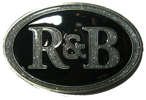 R Amp B R And B Rhythm And Blues Belt Buckle Display Stand