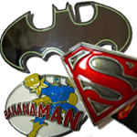 Superhero Belt Buckles