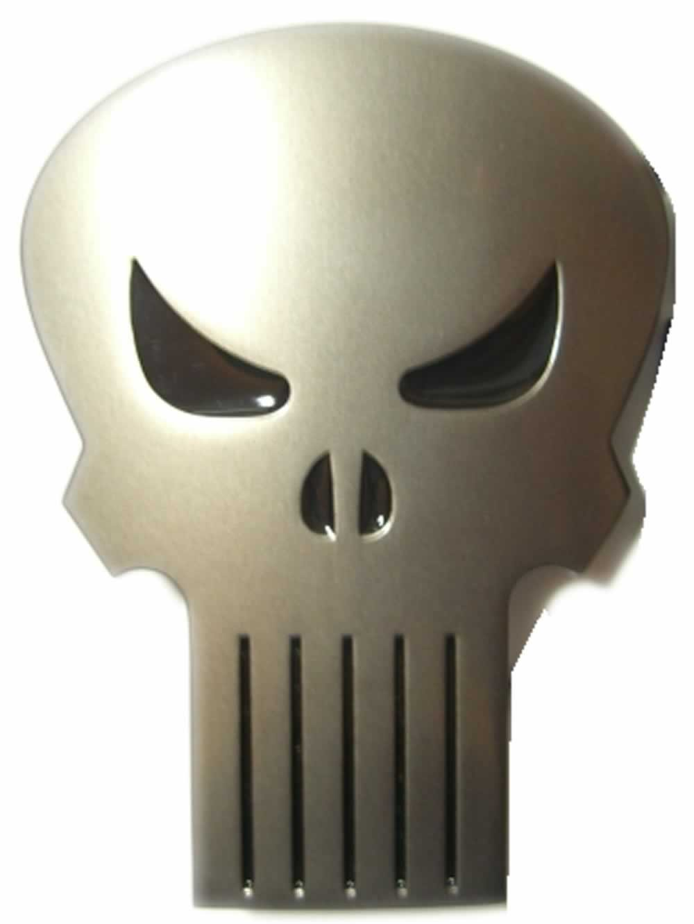 The Punisher Belt Buckle With Display Stand Officially