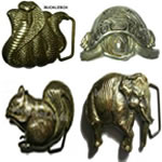 Wild Animals Belt Buckles