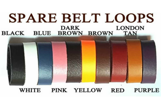 leather belt loops